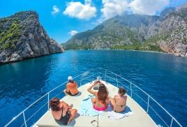 бронировать яхт-тур в Фаселис